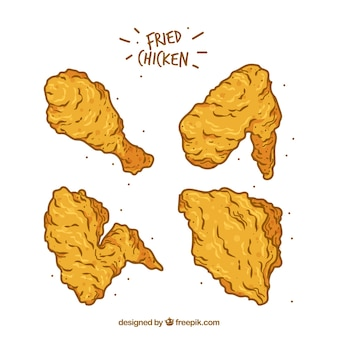 Fried chicken collection
