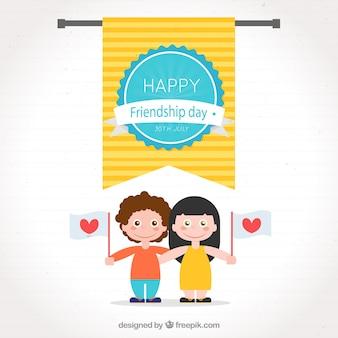 Friendship day design