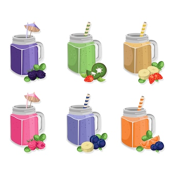 Fruit jars collection