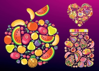 Fruit Vectors