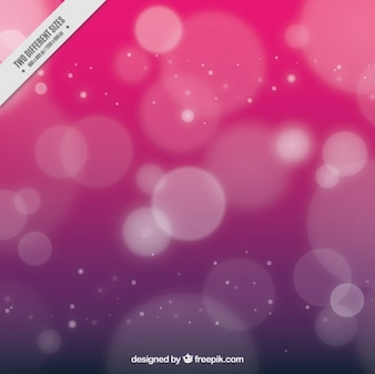 Fuchsia background with bokeh effect