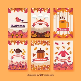 Fun collection of autumn cards