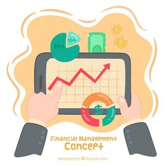 Fun financial management concept