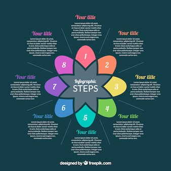 Fun infographic with colorful style