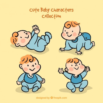 Funny babies collection