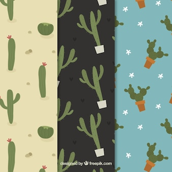Funny cactus pattern