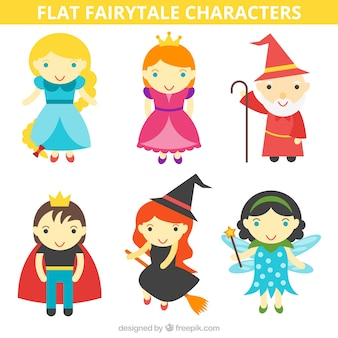 Funny characters of fairy tales