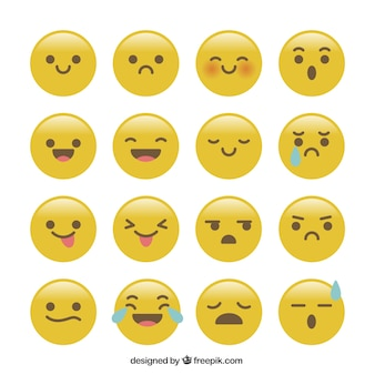 Funny collection of smiley