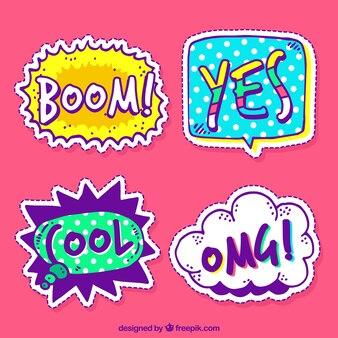 Funny decorative stickers