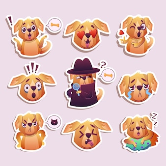 Funny dogs collection