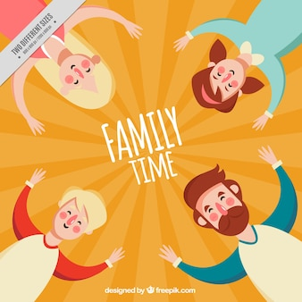 Funny family background