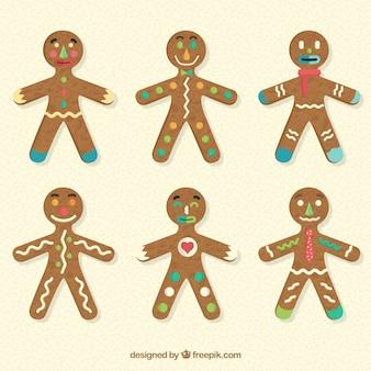 Funny gingerbread cookies