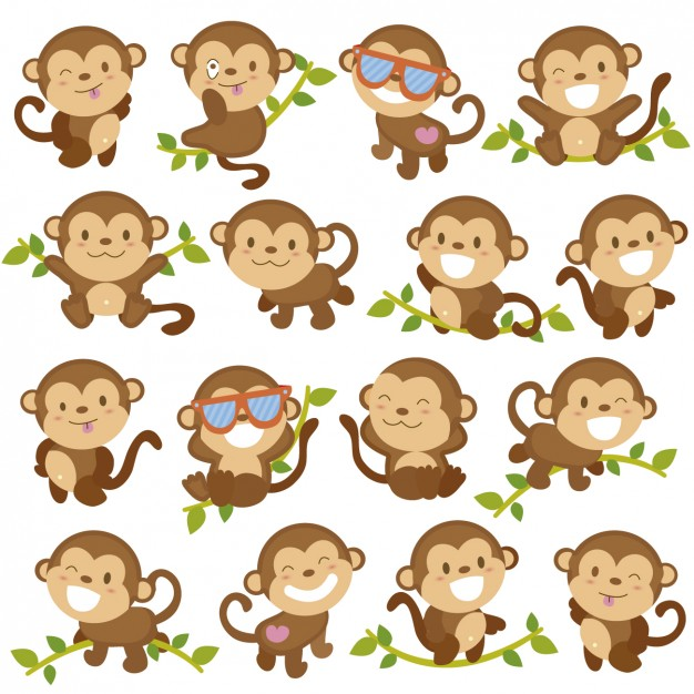 Funny monkey cartoons