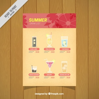 Funny summer drinks