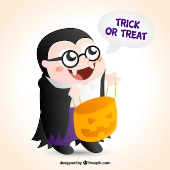 Funny vampire costume