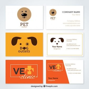 Funny vet card collection