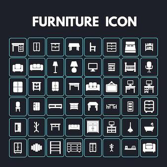 家具のアイコン
