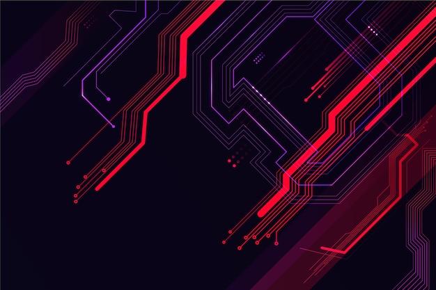 Futuristic background concept