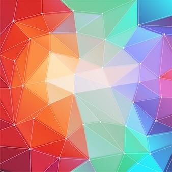 Futuristic texture art square screen