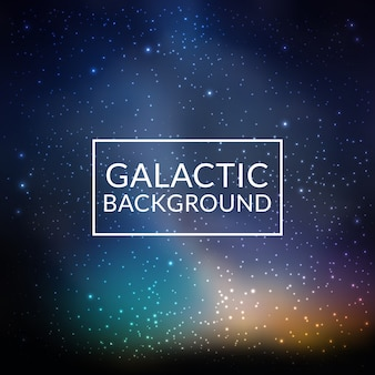 Galactic background