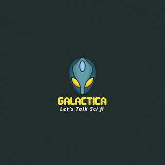 Galactic logo on a dark background