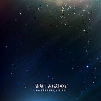 Galaxy background with purple forms