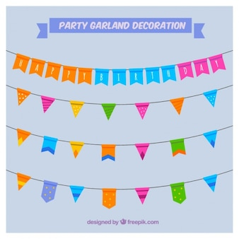 Garlands pack for birthday celebration