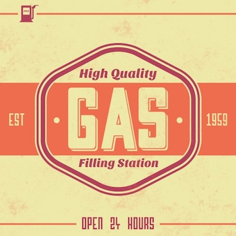 Gas station background design