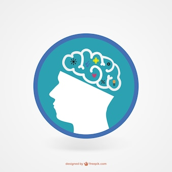 Genius brain icon