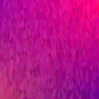 Geometric abstract chaotic triangle pattern background - polygon vector graphic