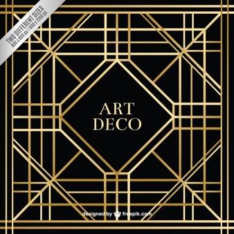 Geometric art deco background