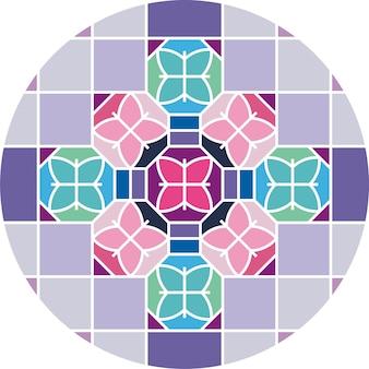 幾何学的背景色
