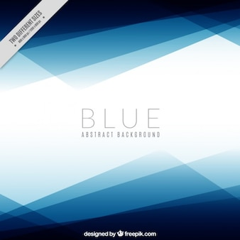 Geometric background in blue color
