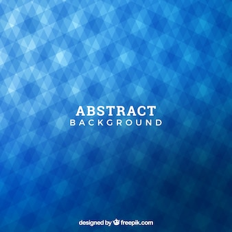 Geometric background with a blue pattern