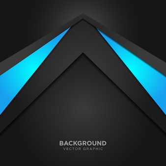 Geometric background with blue details