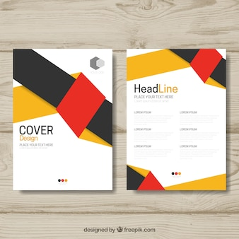 Geometric business brochure