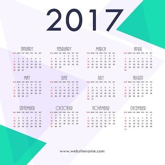 Geometric calendar
