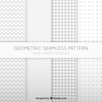 Geometric collection of patterns