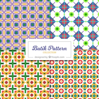 Geometric colorful patterns