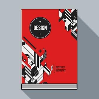 Geometric cover template