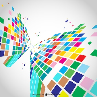 Geometric dynamic background