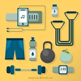 Geometric fitness elements pack