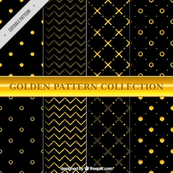 Geometric golden patterns