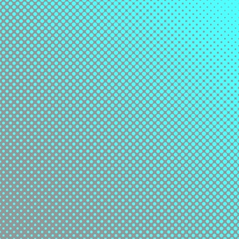 Geometric halftone dot pattern background - vector graphic with circles in varying sizes
