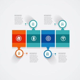 Geometric infographics