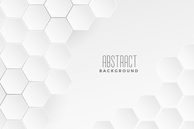 Geometric medical concept white background