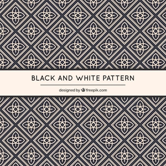 Geometric ornamental pattern