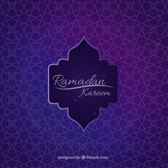 Geometric ornamental ramadan background