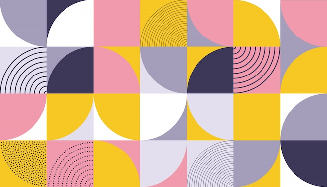 Geometric pattern  abstract color design