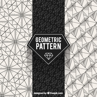 Geometric pattern, diamond